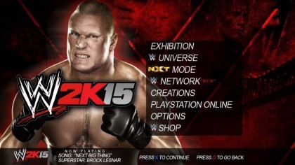 Скриншоты WWE 2K15