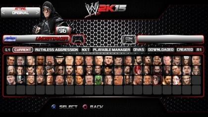 WWE 2K15 игра