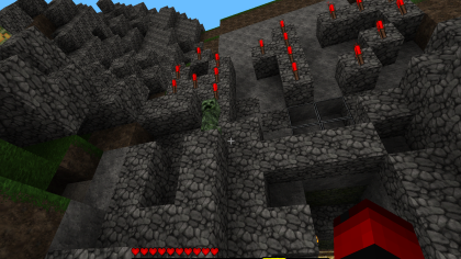 Скриншоты Minecraft
