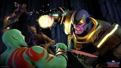 Скриншоты Marvel's Guardians of the Galaxy: The Telltale Series