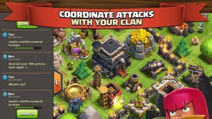 Скриншоты Clash of Clans