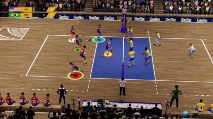 Скриншоты Spike Volleyball