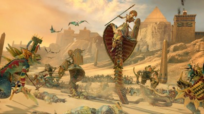 Total War: Warhammer 2 - Rise of the Tomb Kings  игра