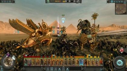 Скриншоты Total War: Warhammer 2 - Rise of the Tomb Kings