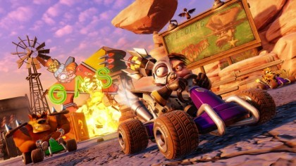 Crash Team Racing: Nitro-Fueled игра