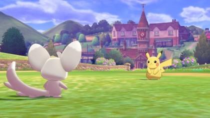 Скриншоты Pokemon Sword & Shield