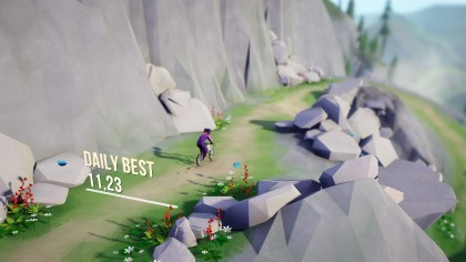 Скриншоты Lonely Mountains: Downhill
