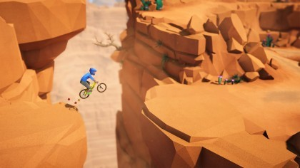 Lonely Mountains: Downhill игра