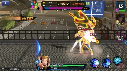 Скриншоты The King of Fighters All-Star