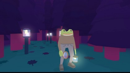 Скриншоты Frog Detective 2: The Case of the Invisible Wizard