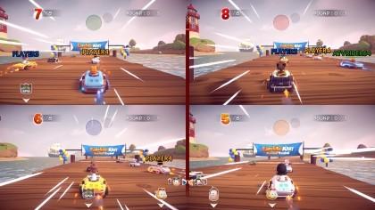 Garfield Kart: Furious Racing игра