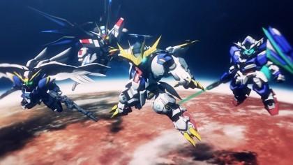 Скриншоты SD Gundam G Generation Cross Rays