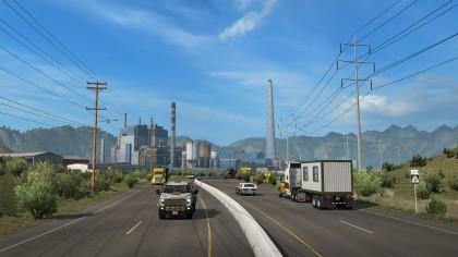 American Truck Simulator игра