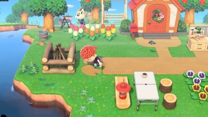 Скриншоты Animal Crossing: New Horizons