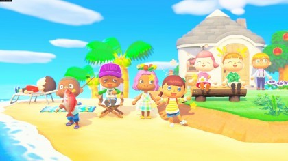 Animal Crossing: New Horizons игра
