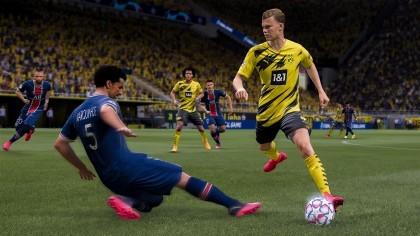 FIFA 21 игра