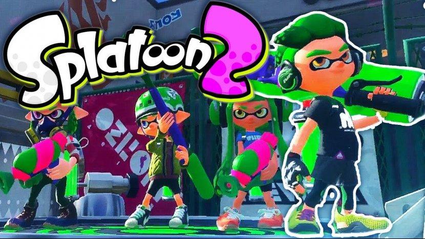 Обзор (Рецензия) игры Splatoon 2 – «Я тебе лицо раскрашу!»