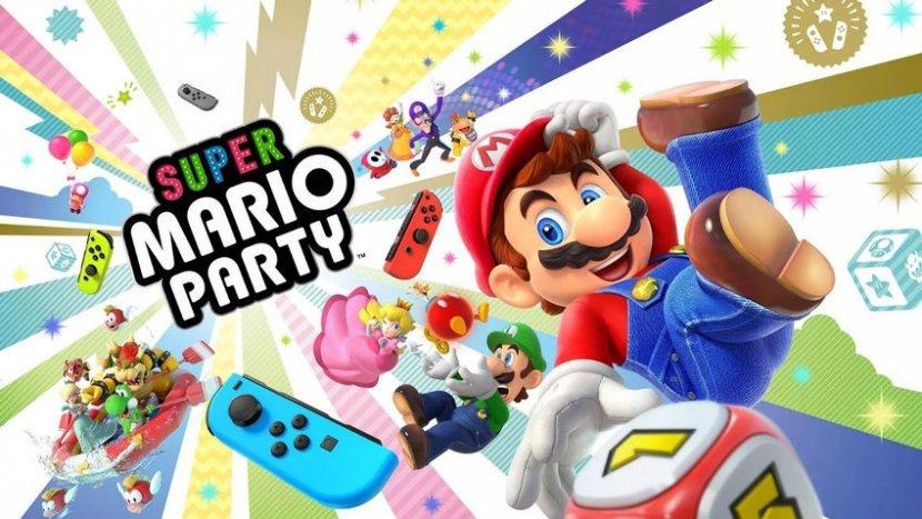 Обзор Super Mario Party