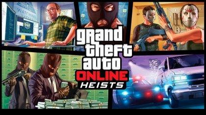 Прохождение ограблений GTA V Online