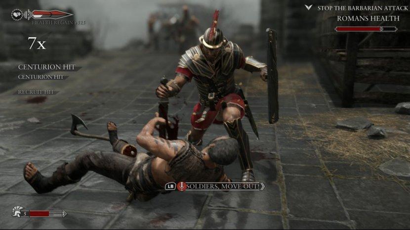 Рецензия Ryse: Son of Rome