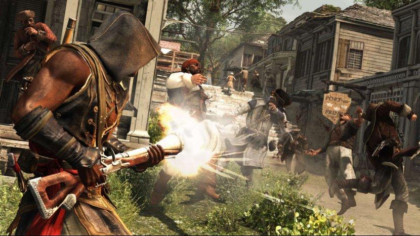 Assassin's Creed IV: Black Flag. Обзор игры