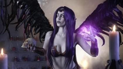 Косплей Моргана и Мальзахар — League of Legends