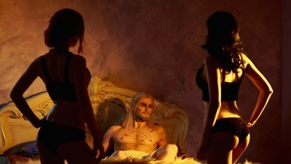 Косплей Трисс, Йеннифэр и Геральт — The Witcher 3