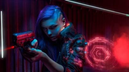 Косплей V — Cyberpunk 2077