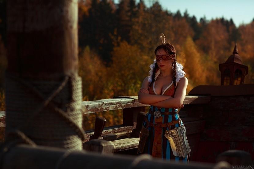 Косплей Филиппа Эйльхарт и Радовид — The Witcher 3
