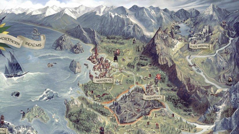 The Witcher 3: Wild Hunt - Карта игры