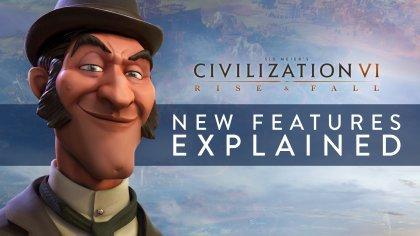 Всё о ключевых нововведениях дополнения «Rise and Fall» для Civilization 6 в новом ролике