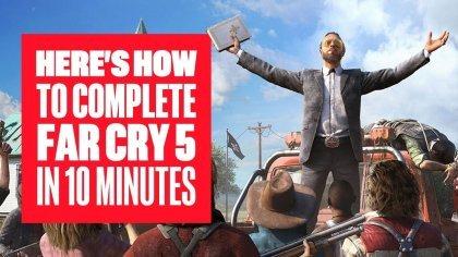 Скрытая концовка Far Cry 5: Как пройти игру за 10 минут?