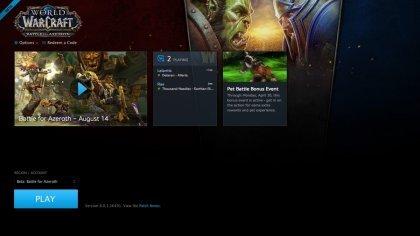 Стартовало закрытое бета-тестирование World of Warcraft: Battle for Azeroth