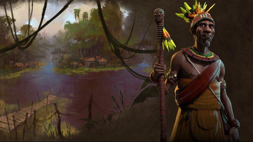 В Civilization VI появится цивилизация Конго, правителем которой станет Мвемба а Нзинга