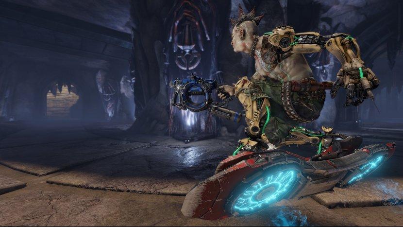 Первый геймплей Quake: Champions, новые скриншоты и дата бета-тестирования