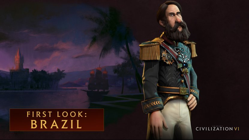Демонстрация игрового процесса за Бразилию в Civilization VI