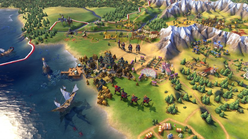 Неожиданный официальный анонс Sid Meier's Civilization VI