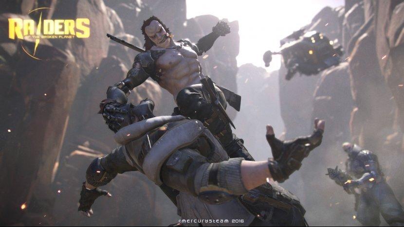 Состоялся анонс новой онлайн игры Raiders of the Broken Planet