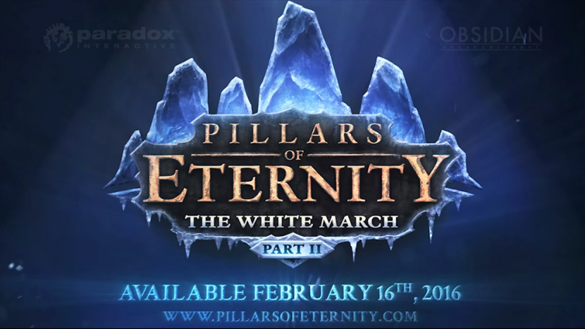 В феврале выйдет DLC «The White March – Part 2» для Pillars of Eternity