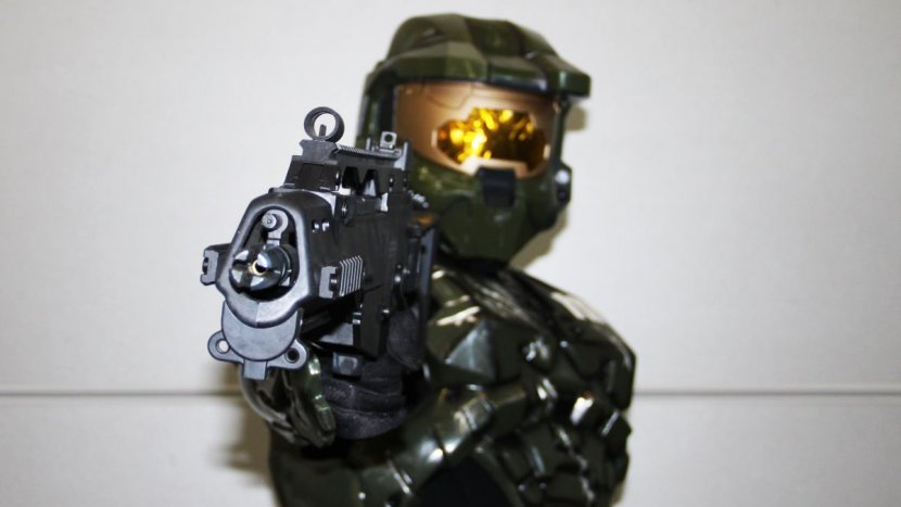 Мастер Чиф из серии Halo прибыл на ИгроМир 2015