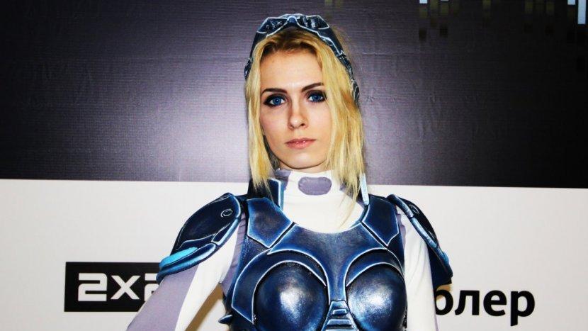 На ИгроМире 2015 появился косплей на Сару Керриган из вселенной StarCraft