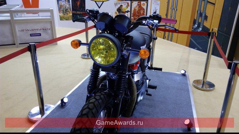 На ИгроМире 2015 компания Konami разыграет мотоцикл из игры MGSV