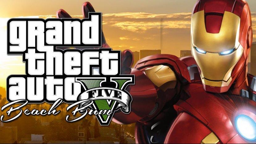 Новый мод для GTA V принёс в игру «Железного человека»
