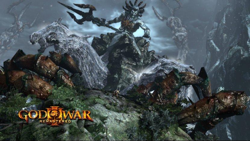 Графика God of War 3 Remastered не слишком отличается от оригинала