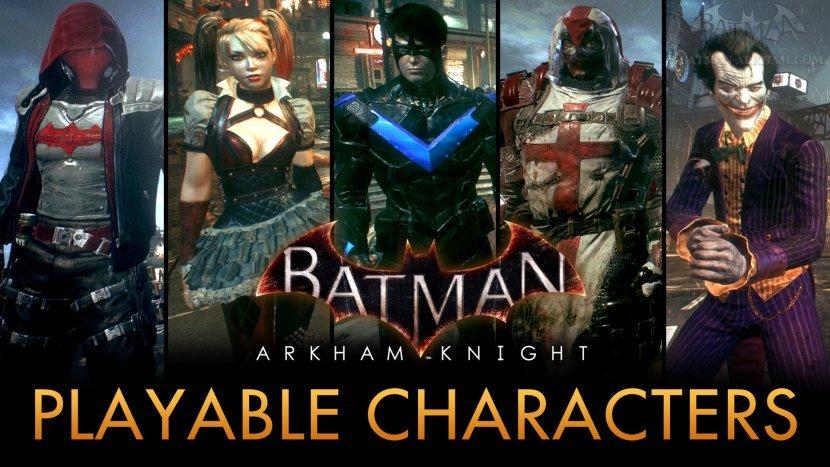 Мод для Batman: Arkham Knight даёт возможность поиграть за любого персонажа