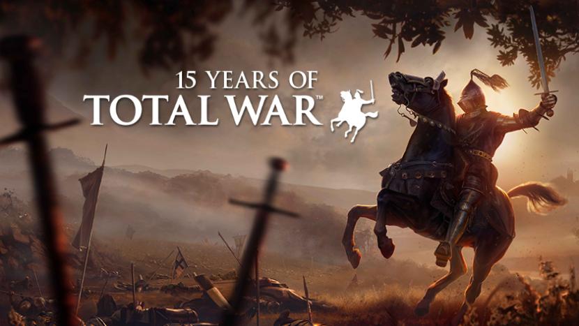 Акция в честь 15-летия серии Total War