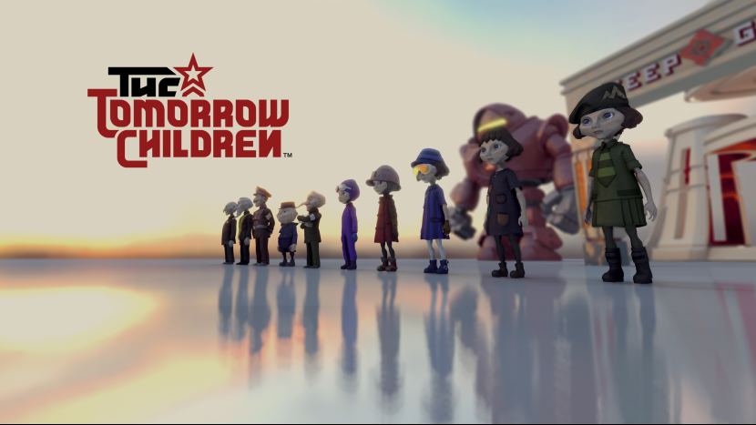 Уже этой осенью на PS4 выходит игра The Tomorrow Children