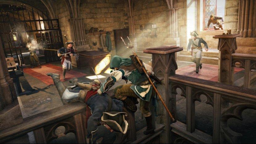 Третий патч для Assassin's Creed: Unity: игра все еще тормозит