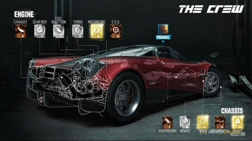 The Crew: особенности автомобилей