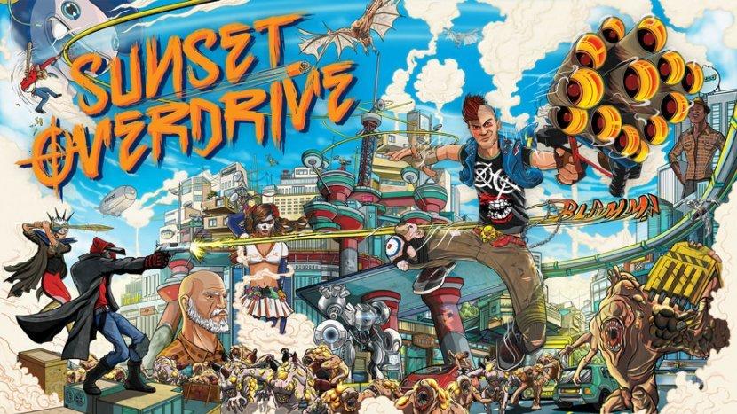 Insomniac Games продемонстрировли новое оружие для Sunset Overdrive